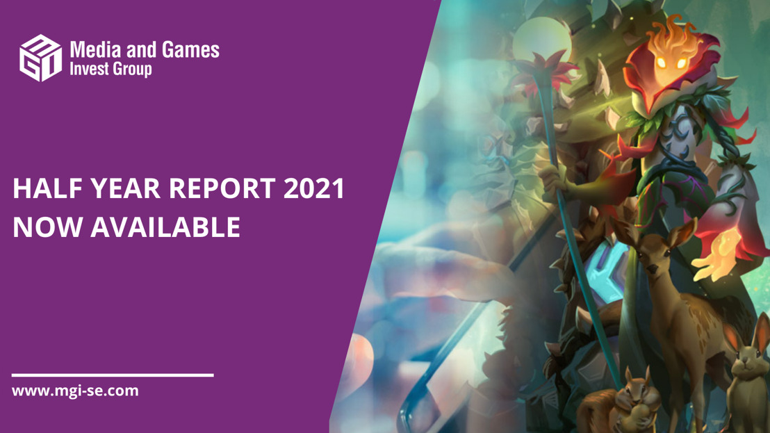 Media and Games Invest publishes Half Year Report 2021 - Strong organic revenue growth of 36% in Q2'21 while adj. EBITDA increased by 127%; intends to refinance German Bond of 25 mEUR