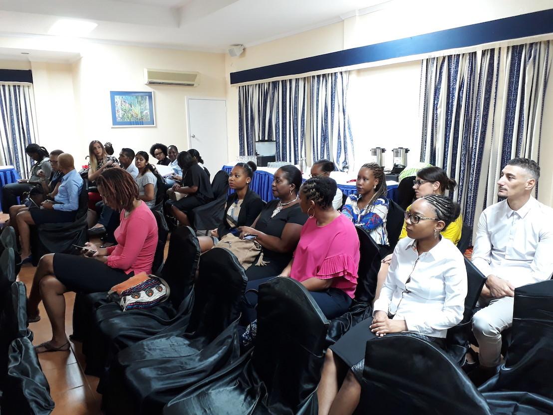 15 professionnels de Martinique en immersion à Saint-Lucie
