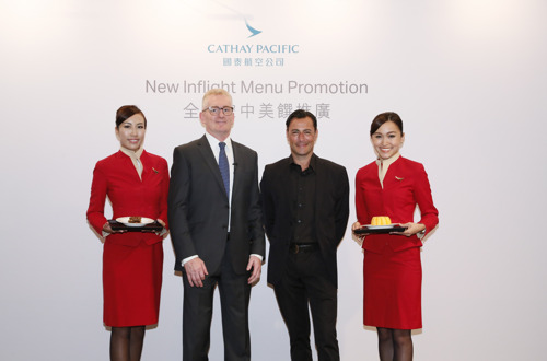 Cathay Pacific partner with celebrity chef Daniel Green to create new inflight dining offerings