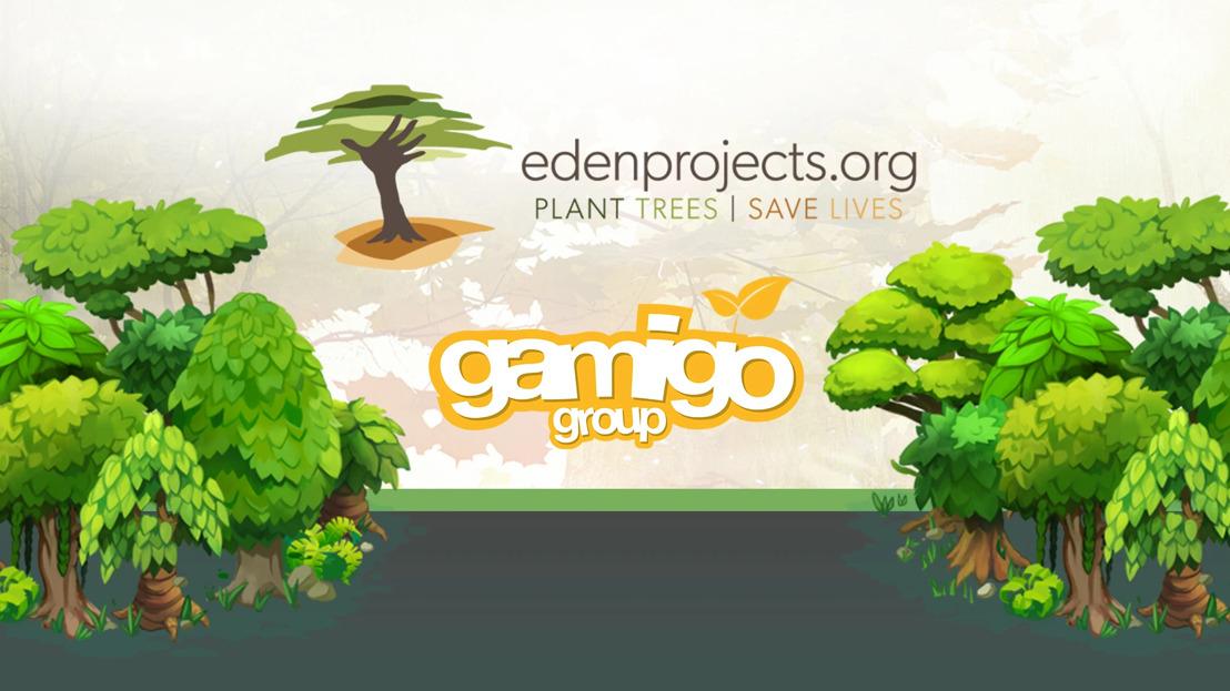 gamigo und Eden Reforestation Projects setzen Zusammenarbeit dauerhaft fort