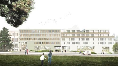 Début du chantier d'un nouveau complexe scolaire néerlandophone à Laeken