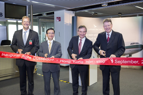 Cathay Pacific launches service to Düsseldorf