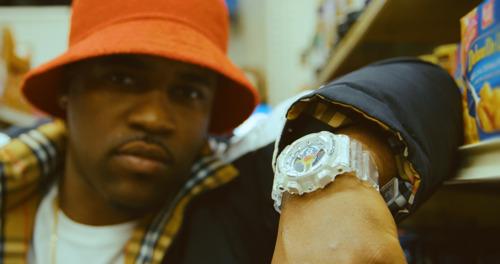 Entre la belleza de los diamantes y la nostalgia, así fue como se inspiró A$AP FERG para crear su reloj G-SHOCK