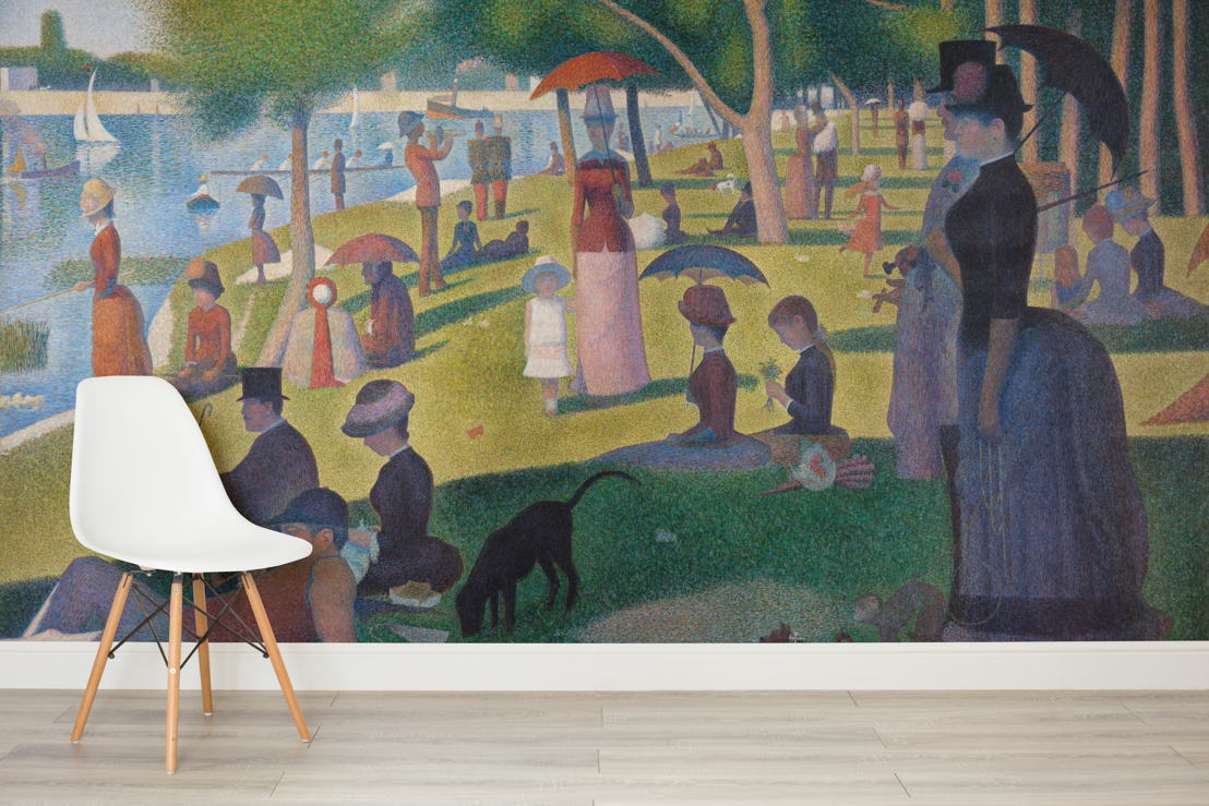 Sunday on le Grande Jatte by Seurat