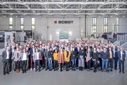 Successful first BOBST PACKAGING MASTERCLASS provides brand owners with vital insights about the future of packaging production – 2020 edition planned