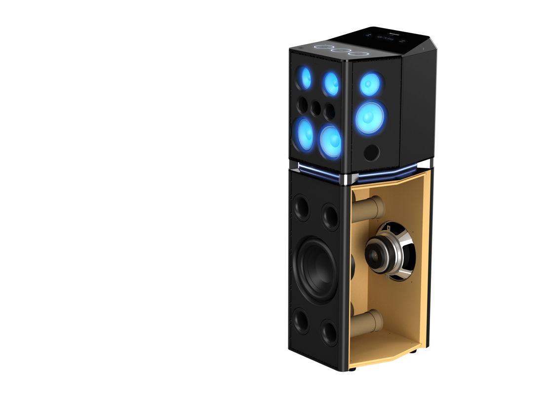 Panasonic Urban Audio SC-UA7 Altavoces