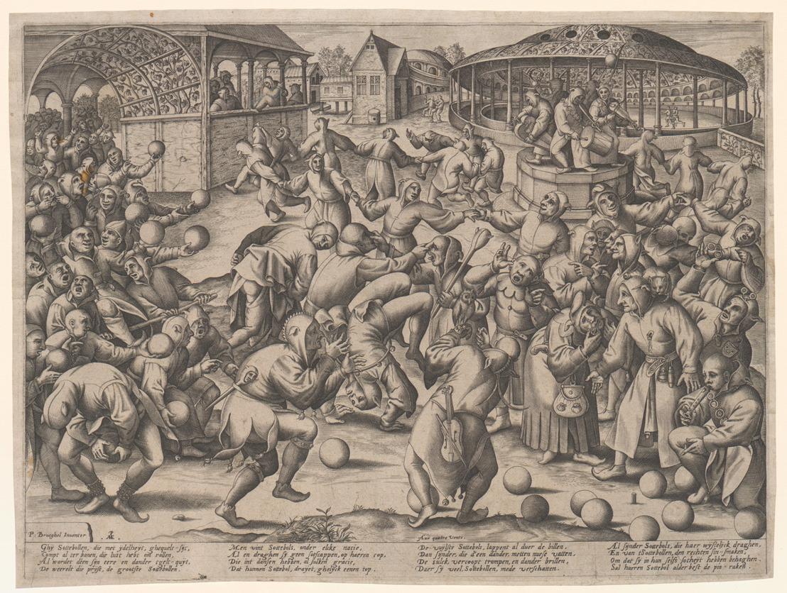 'Sottenbollen' van Pieter Bruegel de Oude, 400 jaar oude originele verkiezingsuitslagen en drukken: keuze te over in het Museum Plantin-Moretus op Erfgoeddag