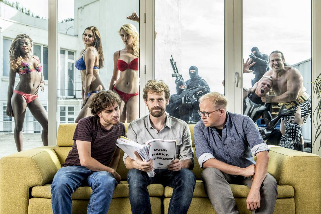 De Ideale Wereld - Jelle De Beule, Otto-Jan Ham en Sven De Leijer