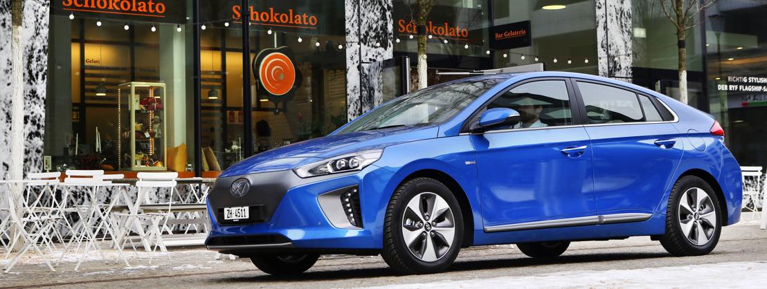 Hyundai IONIQ electric gewinnt ADAC EcoTest 2017