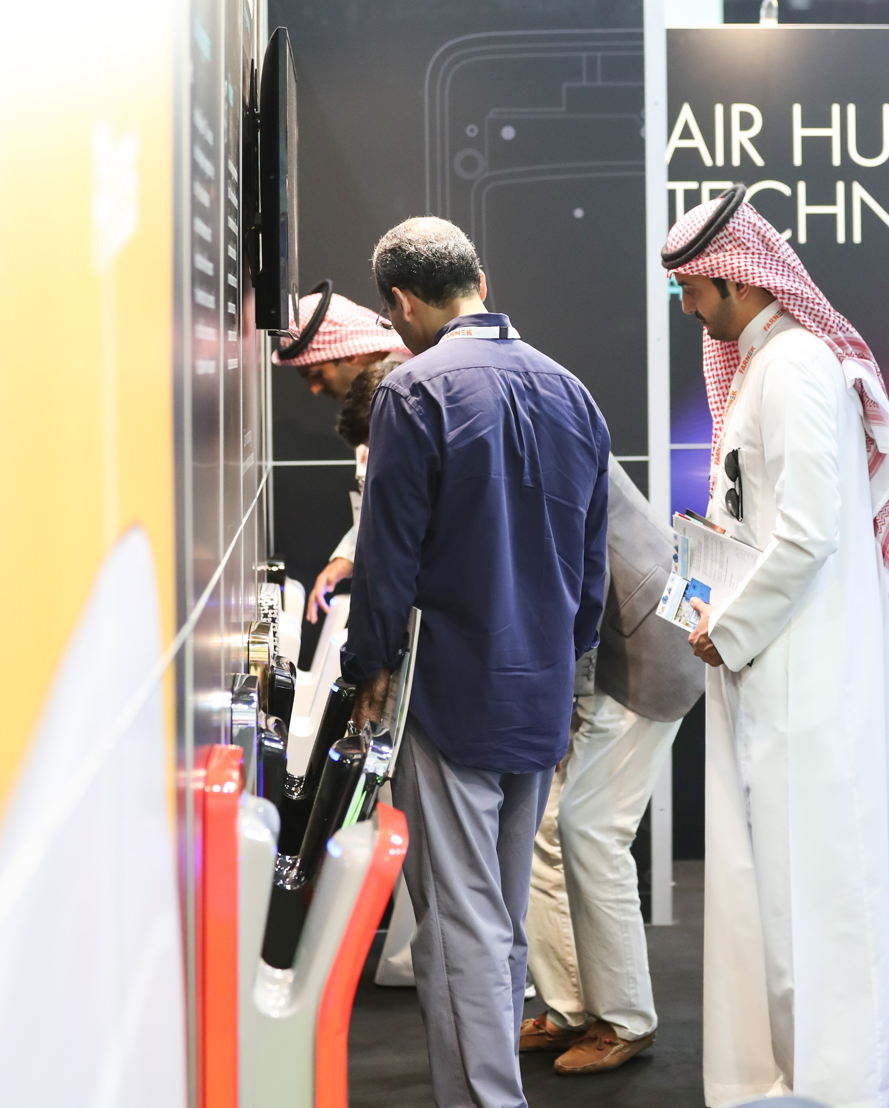 Visitors and exhibitors at FM EXPO 2017