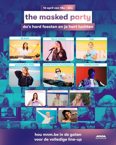 MNM knalt paasvakantie uit met The Masked Party
