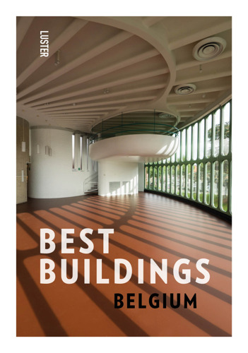 Publishing house Luster unveils Belgium's Best Buildings