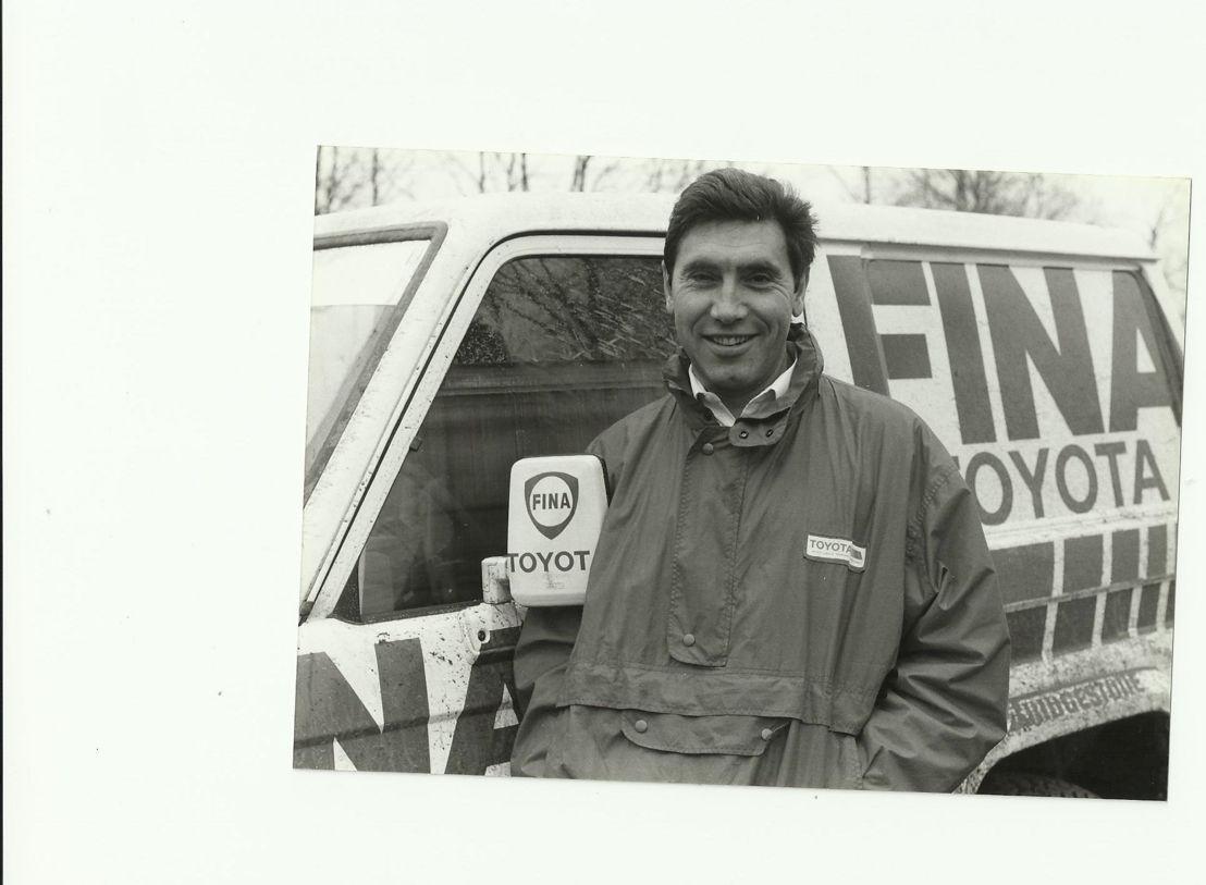 Eddy Merckx pour Toyota 4x4