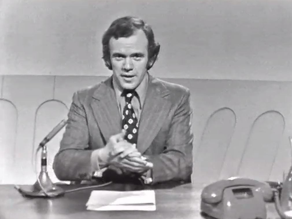 Mike Willesee in the early days of A Current Affair