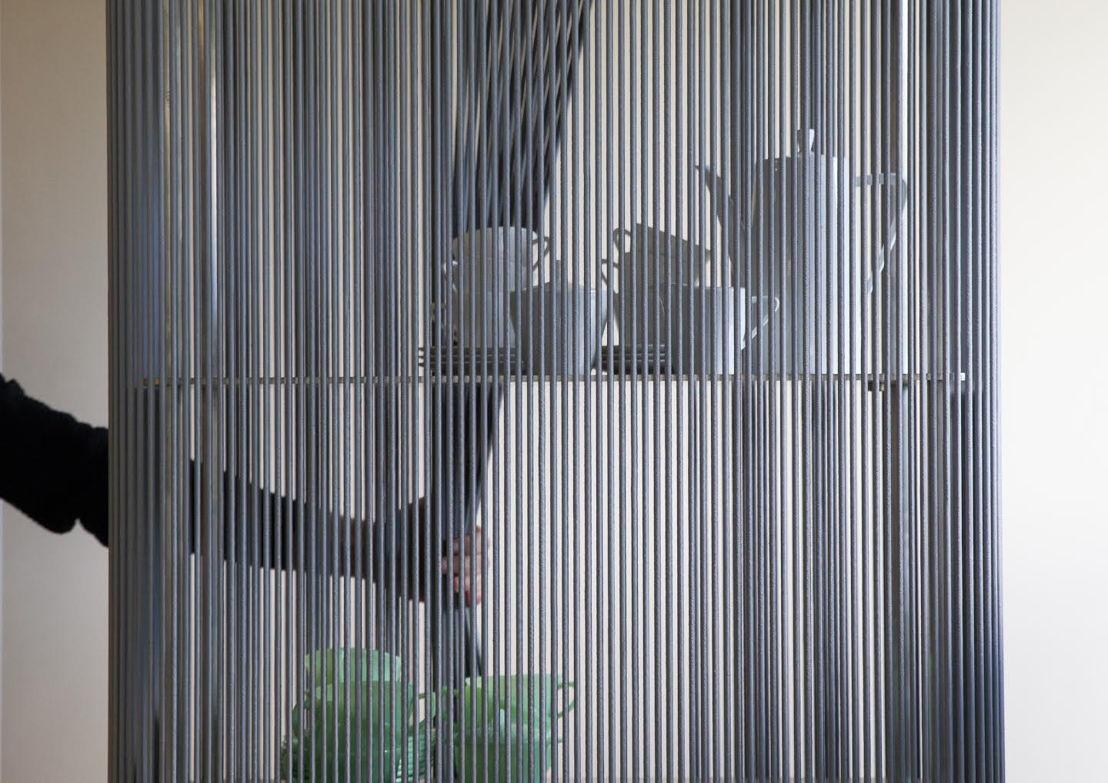 Coil, modulair kastsysteem. Ontwerp: Bram Kerkhofs. Photo: Marilyn De Smet.