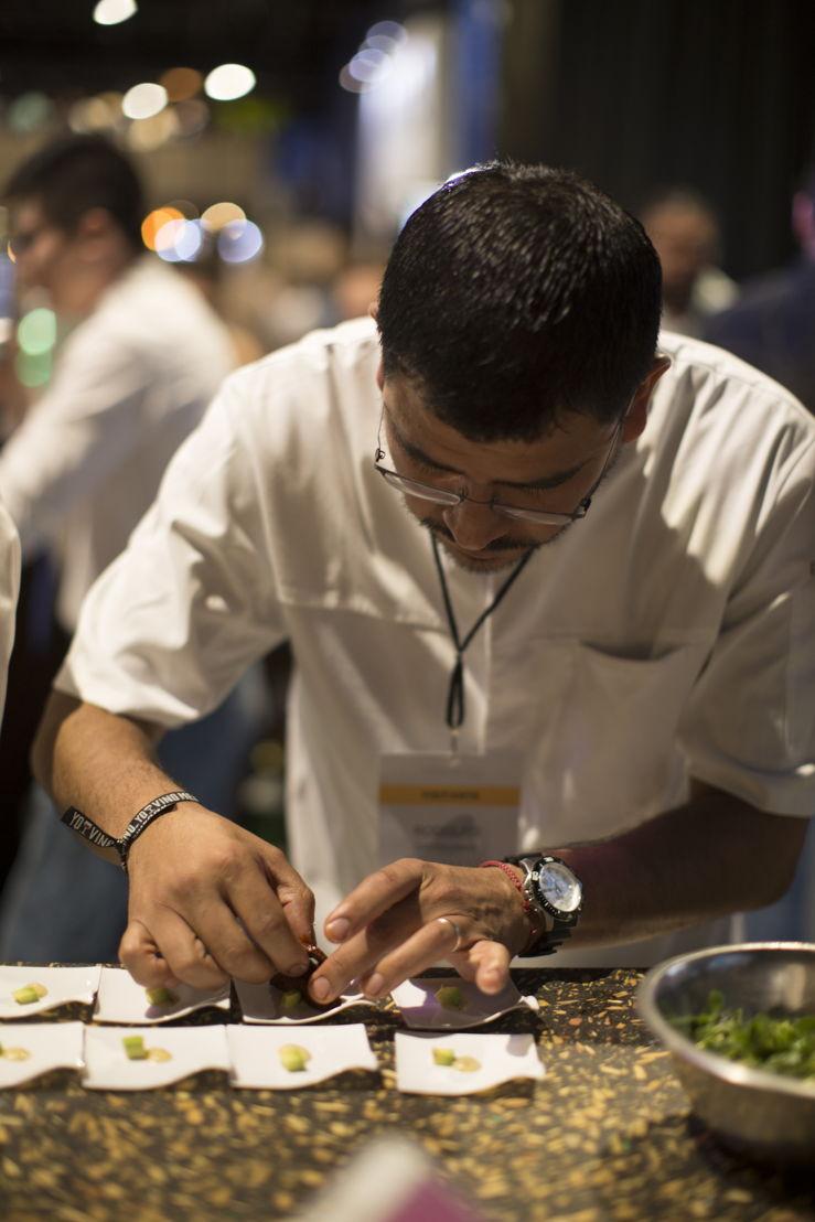 Chef Rodolfo Castellanos de Poleo