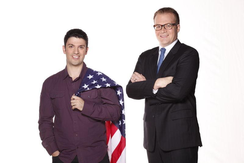 Planet America hosts, Chas Licciardello & John Barron
