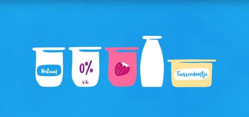 Danone gaat voluit voor minder suiker