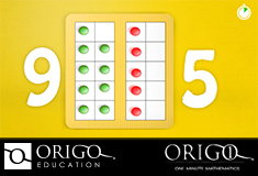 Pinterest Pin of an ORIGO 1 Math animation