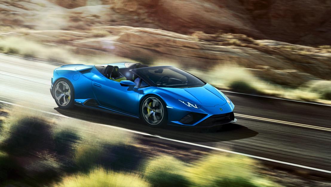 The Lamborghini Huracán EVO Rear-Wheel Drive Spyder: Celebrating life in the open air