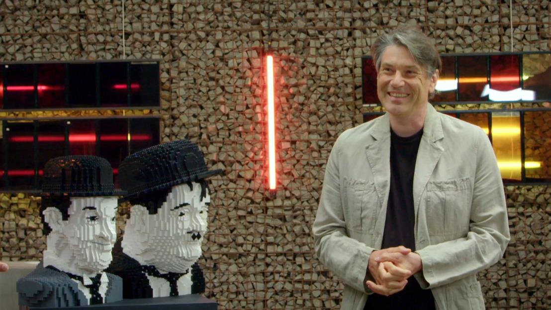 """Hoofden van Laurel & Hardy vereeuwigd in 8500 Legoblokjes: """"Meer dan 80 uur werk en paar duizend euro aan materiaal"""""""
