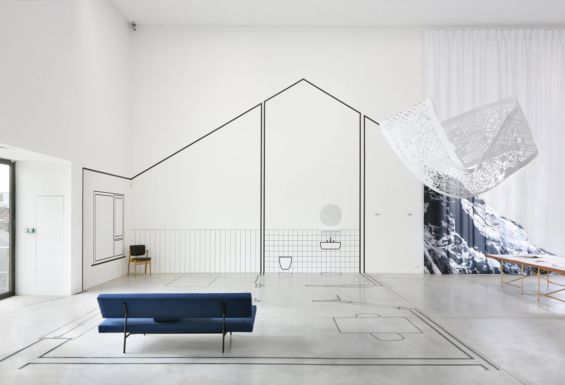 Installatiezicht &#039;EUtopia&#039; in M-Museum Leuven<br/>Foto: Filip Dujardin
