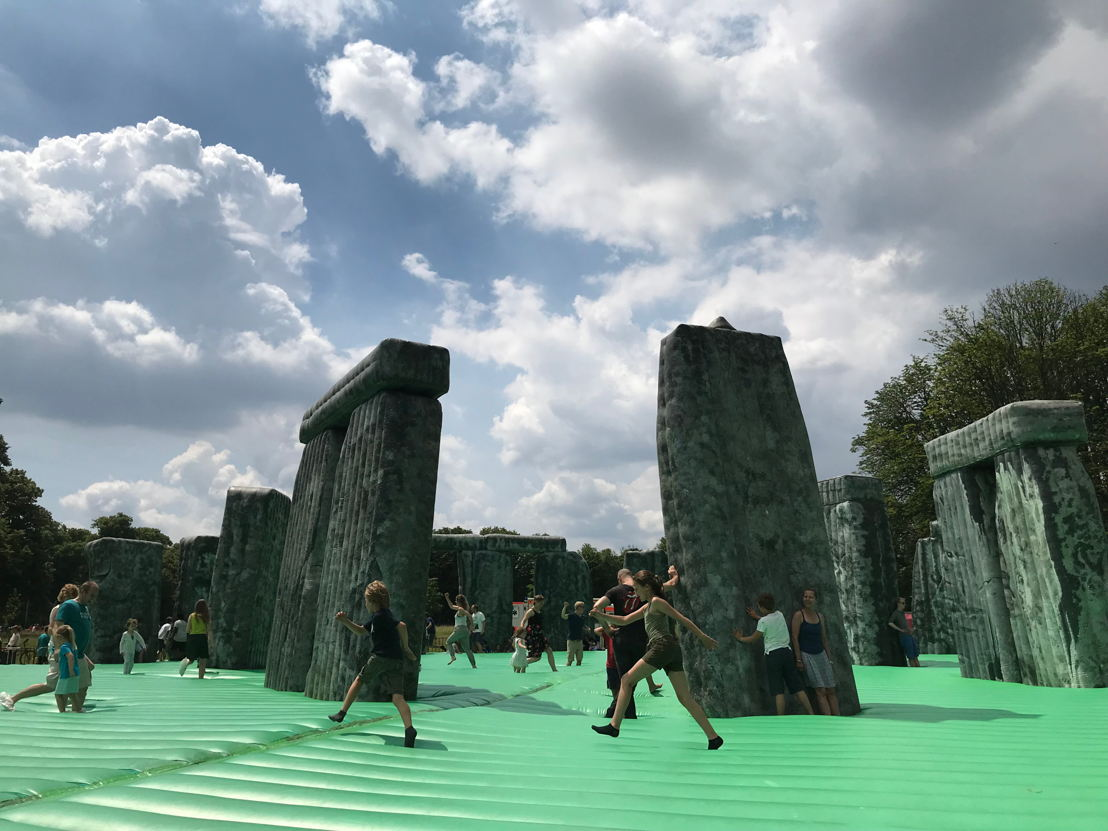 EXPERIENCE TRAPS<br/>Jeremy Deller, Sacrilege,  2012 - courtesy the artist, The Greater London Authority &amp; The Modern Institute