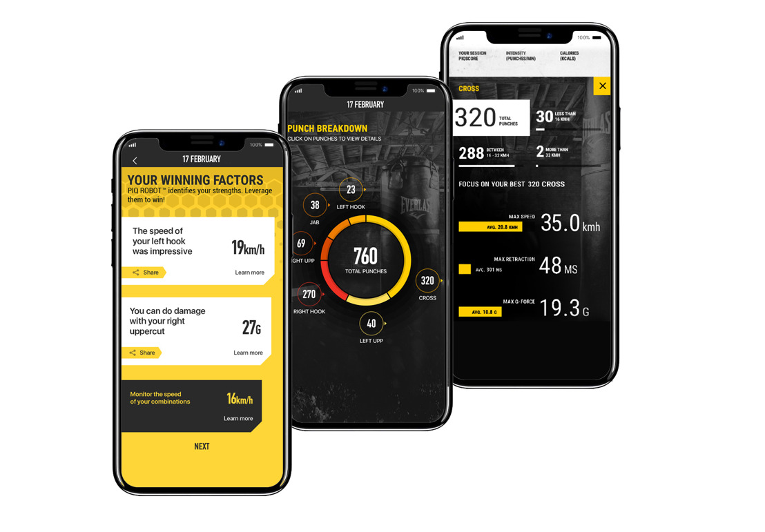 Everlast and PIQ Boxing Sensor - Now Available on Apple.com