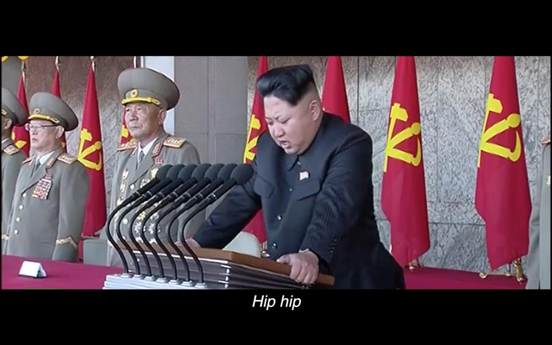 Dictators zingen voor de Persvrijheid
