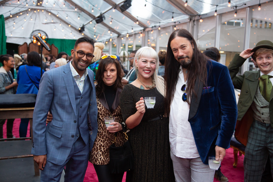 THE TRAGICALLY HIP'S ROB BAKER AMONG VIP GUESTS AND CURATORS OF THE CURIOUS WHO GATHERED FOR AN EPIC FIRST EVENING OF THE HENDRICK'S GIN L.E.V.I.T.A.T.R.E.