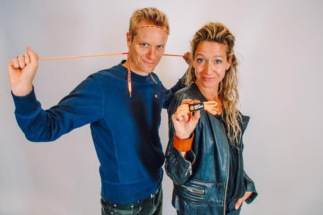 Stijn Vlaeminck en Cath Luyten © VRT