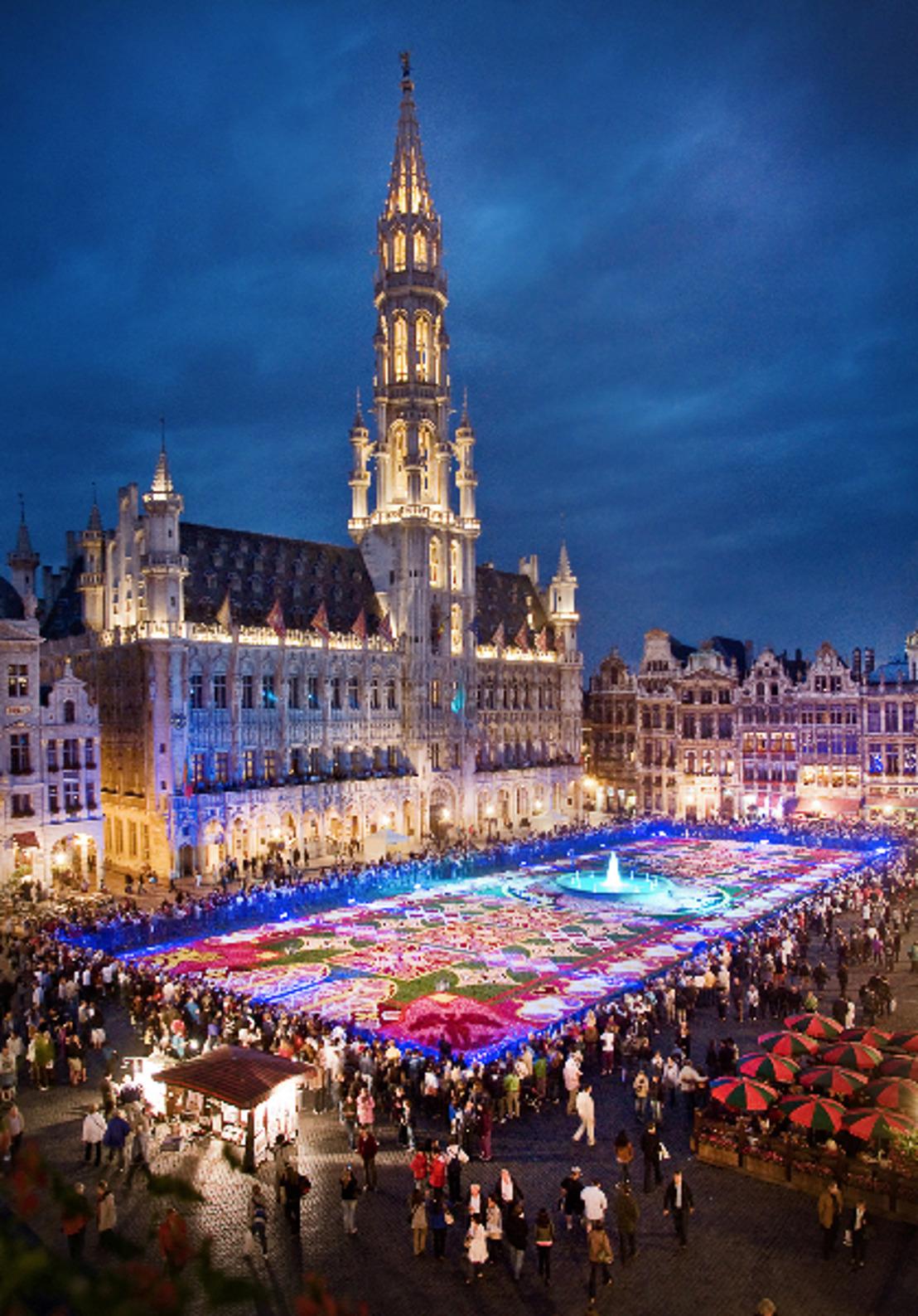 Guanajuato, el orgullo cultural de México, tapiza de flores la Gran Plaza de Bruselas, el corazón de Europa