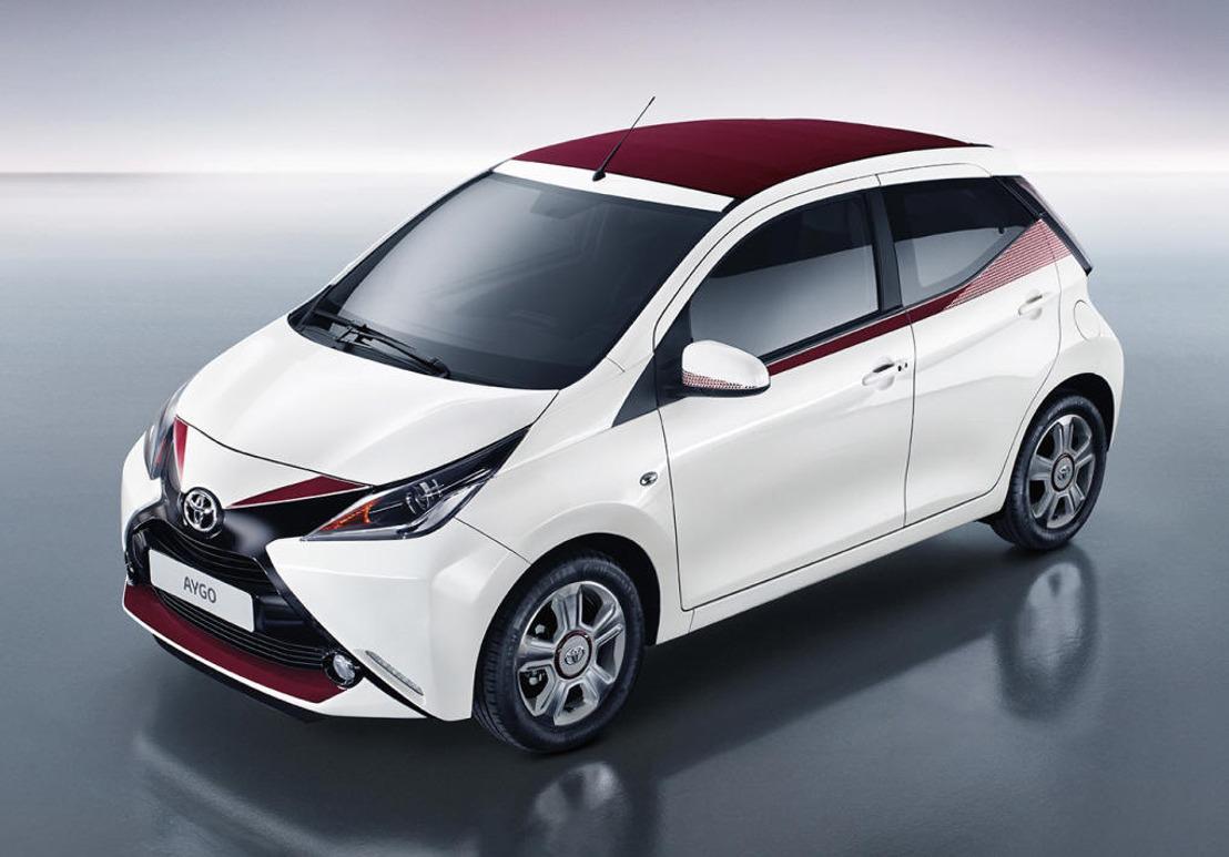 Toyota AYGO: nieuw gamma vanaf productie 05/2017