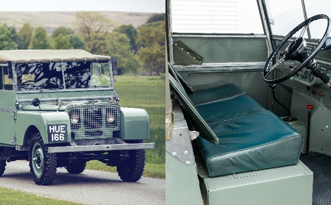 1948 - Land Rover Series I - (Check Vinyl)