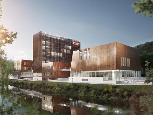 Le pouvoir de fascination de STIHL : STIHL Brand World, le musée de la marque, ouvrira ses portes en 2023
