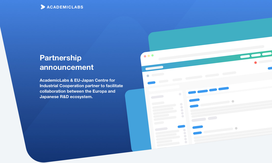 Start-up AcademicLabs brings European and Japanese scientists together