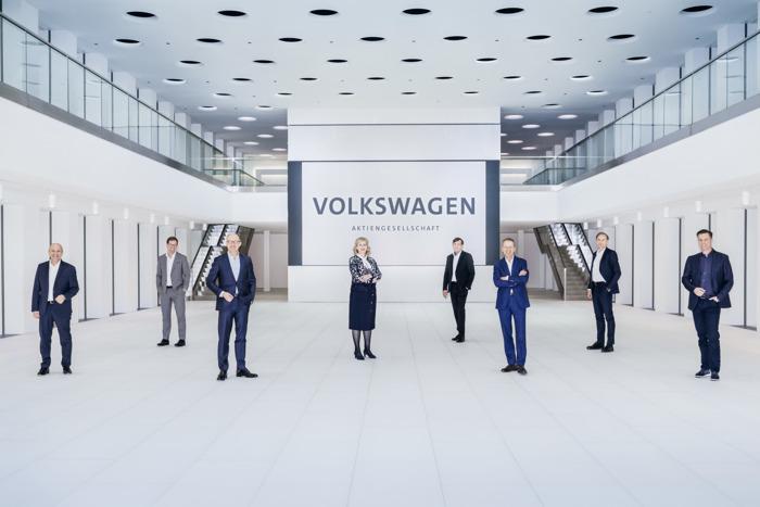 Volkswagen-groep richt zich op platformmodel voor toekomstige thema's