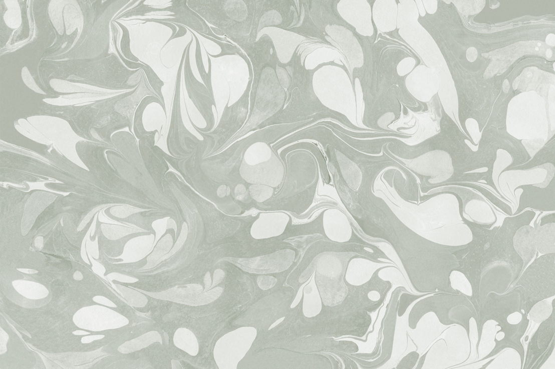 Swish Sage Marbled Wallpaper Mural