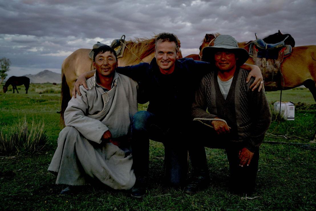 De helden van Arnout/Mongolië (c) VRT