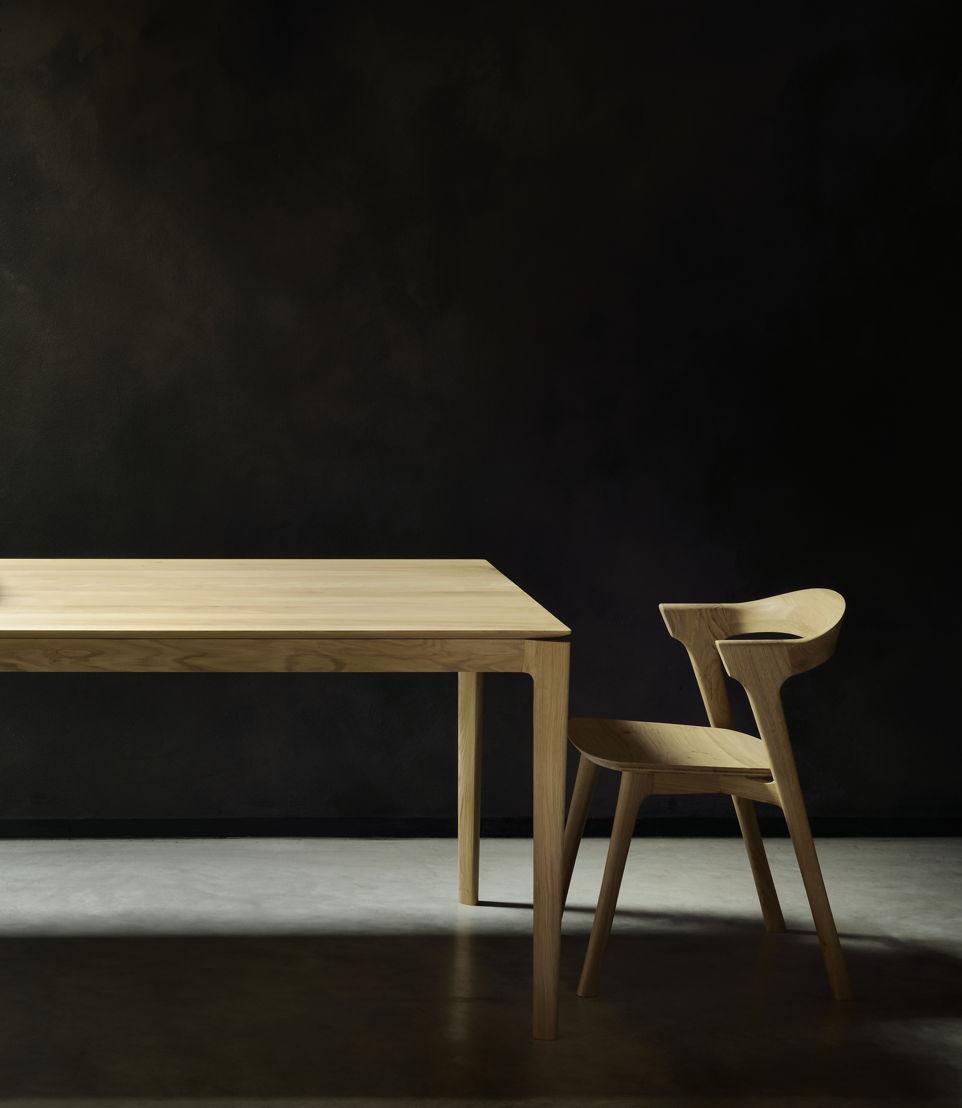 Ethnicraft Oak Bok dining table & Oak Bok dining chair