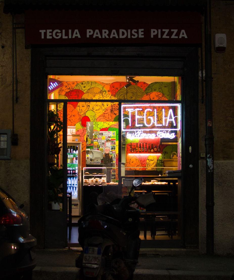 Teglia Paradise Pizza