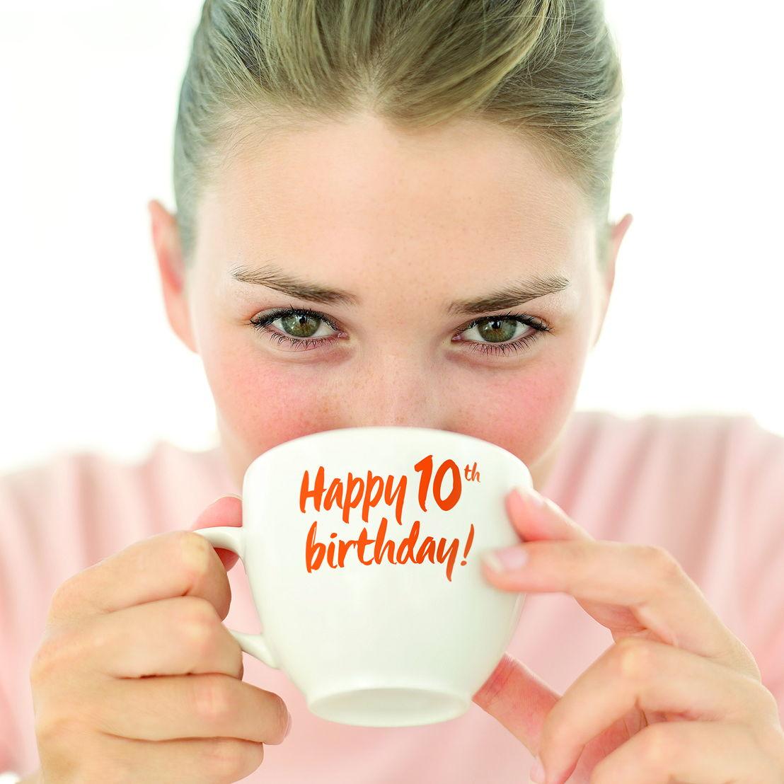 Happy 10th birthday!