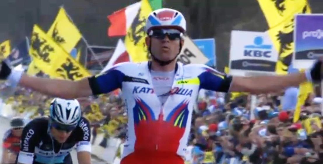 SPORZA - EEN   Massale belangstelling voor Ronde van Vlaanderen: gemiddeld bijna 1.140.000 kijkers