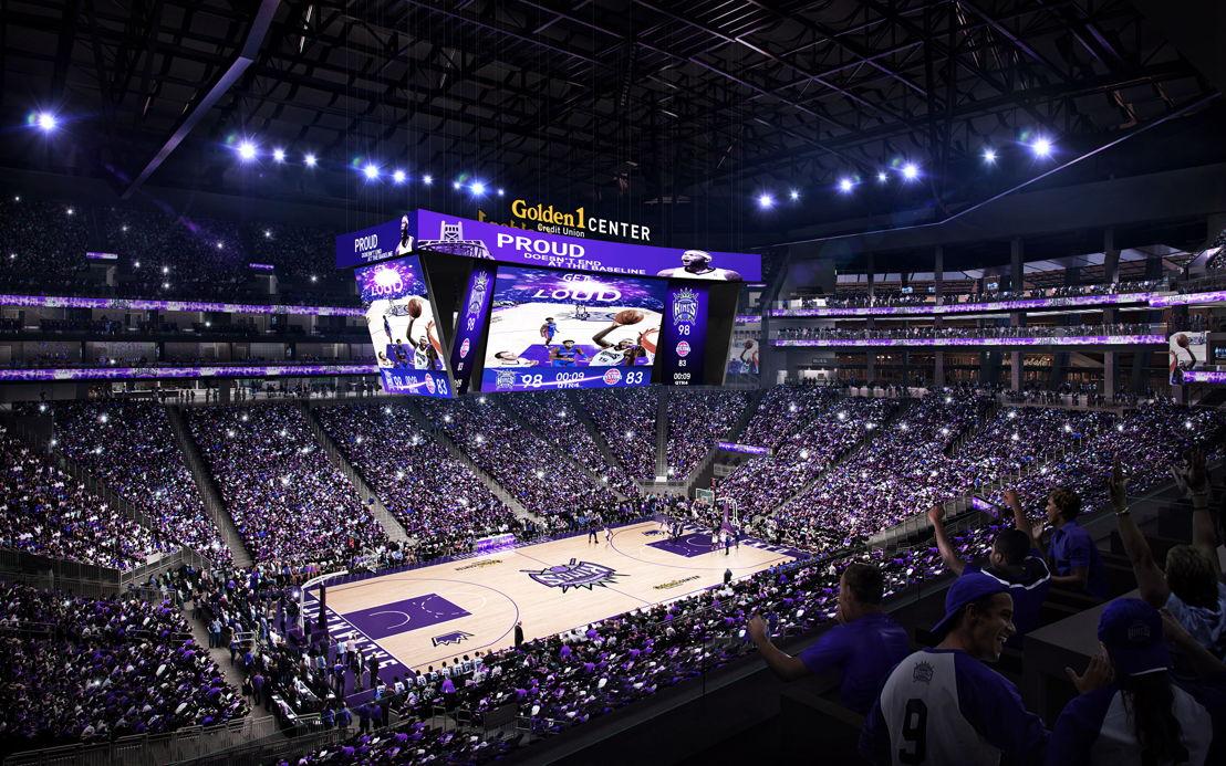 Pantallas LED 4K UHD en Arena Sacramento Kings