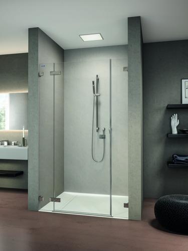 Duscholux à Batibouw (part II) : des douches faciles à entretenir !