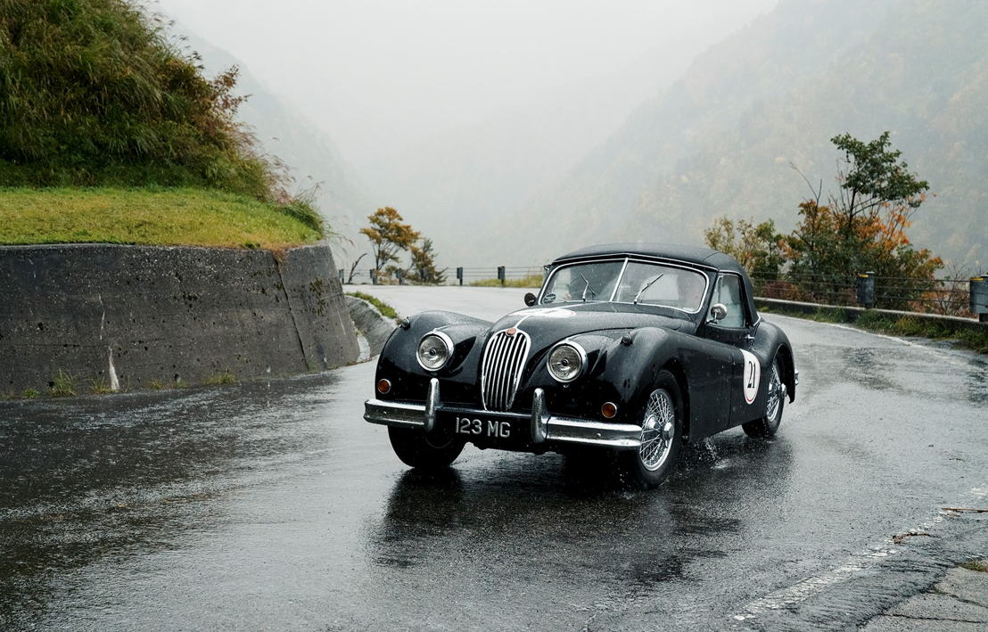 Car model: 1955 Jaguar XK120