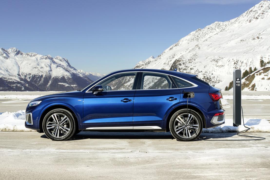 Krachtigere batterij, groter rijbereik: upgrade voor de Audi plug-inhybrides Q5, A6, en A7