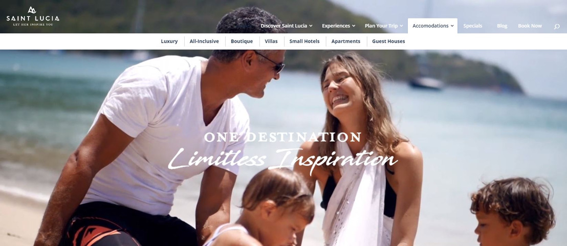 Saint Lucia Tourism Authority Launches its New Interactive Website