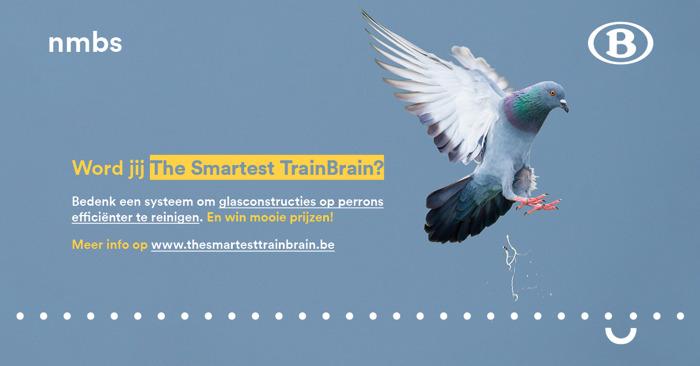Persbericht: HR Rail en NMBS dagen jonge ingenieurs uit met The Smartest TrainBrain