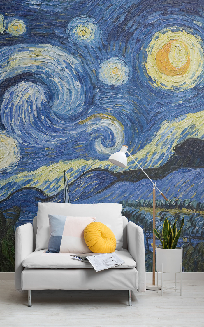 Iconic Van Gogh paintings as mural masterpieces to mark 130 year anniversary